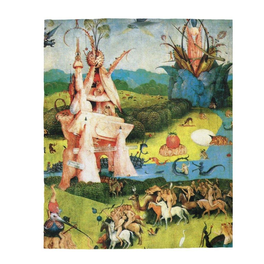 Plush Blanket - The Garden of Earthly Delights 2, Hieronymus Bosch All Over Prints 49.95 Art an a T