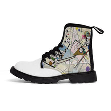 Load image into Gallery viewer, Men's Canvas Boots - Composition Viii, Wassily Kandinsky - Art an a T