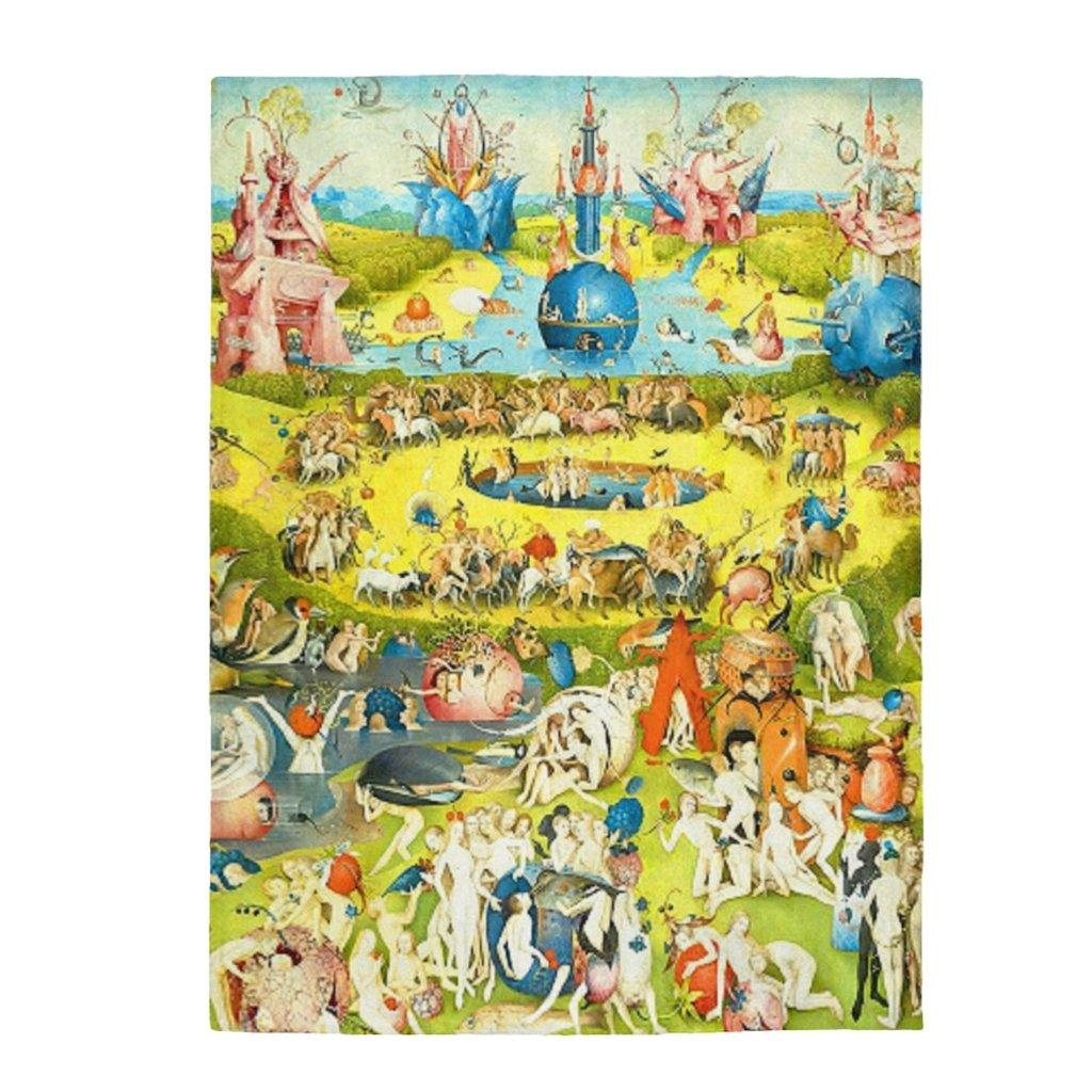 Plush Blanket - The Garden of Earthly Delights, Hieronymus Bosch All Over Prints 59.95 Art an a T