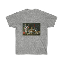 Load image into Gallery viewer, Tee - Still life with Flowers, Goblet and Dainties, Clara Peeters T-Shirt 19.95 Art an a T