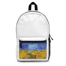 Load image into Gallery viewer, Backpack (Made in USA) - Wheatfield with Crows, Vincent Van Gogh - Art an a T