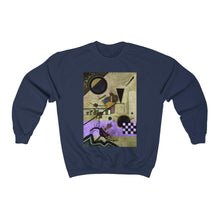 Load image into Gallery viewer, Sweatshirt - Contrasting Sounds, Wassily Kandinsky - Art an a T