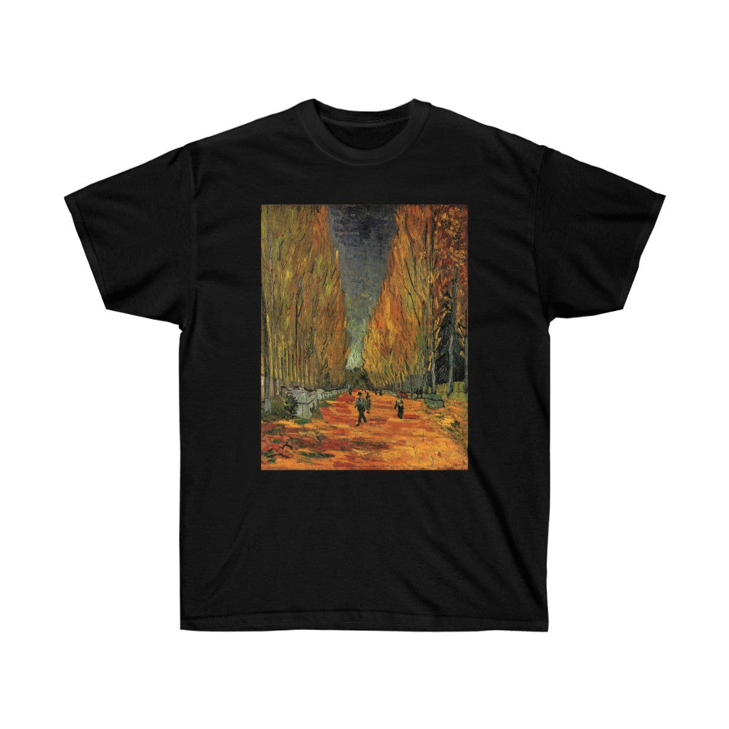 Tee - Les Alyscamps, Vincent van Gogh T-Shirt 19.95 Art an a T