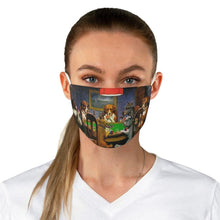 Load image into Gallery viewer, Adjustable Face Mask - A Friend In Need, Cassius Marcellus Coolidge - Art an a T