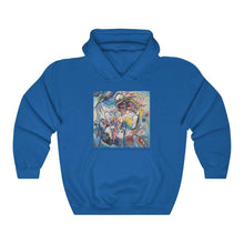 Load image into Gallery viewer, Hooded Sweatshirt - Moscow Red Square, Wassily Kandinsky - Art an a T