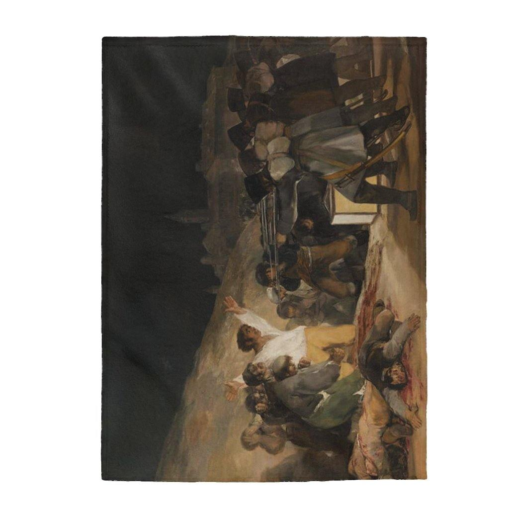 Plush Blanket - The Third of May, Francisco Goya - Art an a T