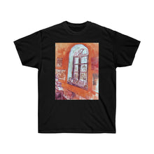 Load image into Gallery viewer, Tee - Window of Vincent's Studio at the Asylum, Vincent van Gogh T-Shirt 19.95 Art an a T