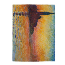 Load image into Gallery viewer, Plush Blanket - San Giorgio Maggiore At Dusk, Claude Monet