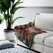 Load image into Gallery viewer, Plush Blanket - Six Tuscan Poets, Giorgio Vasari All Over Prints 34.95 Art an a T