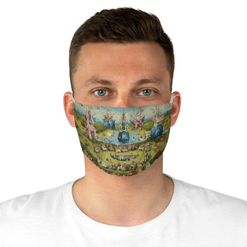 Adjustable Face Mask - The Garden of Earthly Delights, Hieronymus Bosch - Art an a T
