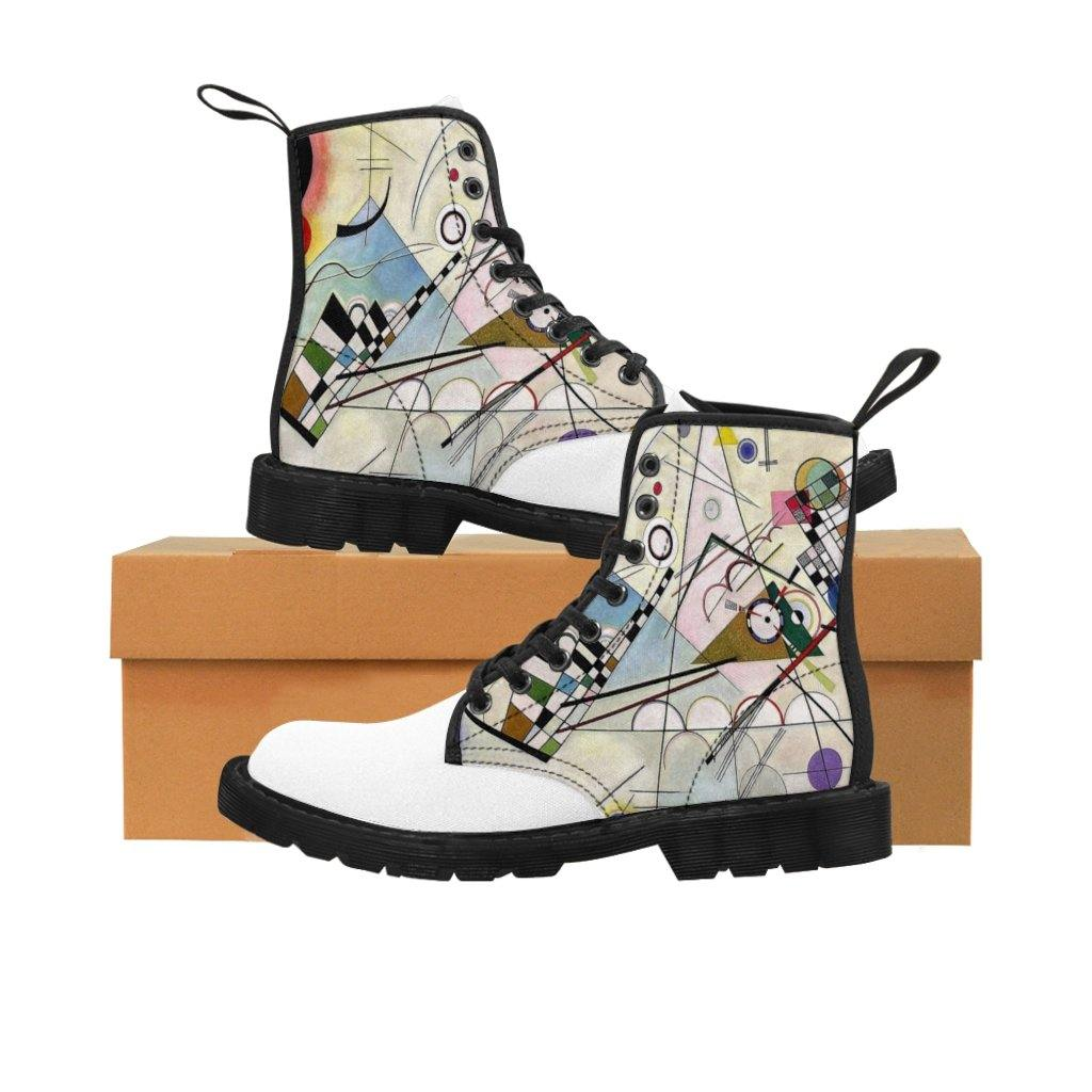 Men's Canvas Boots - Composition Viii, Wassily Kandinsky - Art an a T