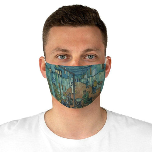 Adjustable Fabric Face Mask - Ward in the Hospital in Arles, Vincent van Gogh - Art an a T