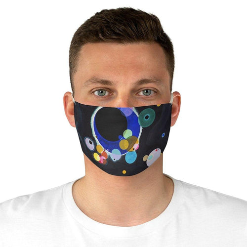Adjustable Face Mask - Several Circles, Wassily Kandinsky - Art an a T