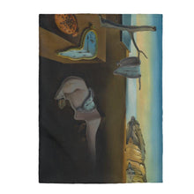 Load image into Gallery viewer, Plush Blanket - The Persistence of Memory, Salvador Dali All Over Prints 49.95 Art an a T