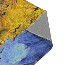 Load image into Gallery viewer, Area Rugs - Wheatfield with Crows, Vincent Van Gogh - Art an a T