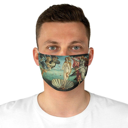 Adjustable Face Mask - La Nascita di Venere, Boticelli - Art an a T