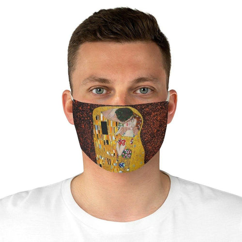 Adjustable Face Mask - The Kiss, Gustav Klimt - Art an a T