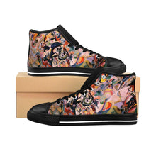 Load image into Gallery viewer, Men's High-top Sneakers - Composition VII, Wassily Kandinsky - Art an a T