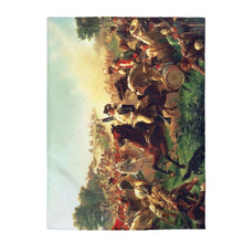 Load image into Gallery viewer, Plush Blanket - Battle of Monmouth, Emanuel Leutze - Art an a T