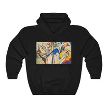Load image into Gallery viewer, Hooded Sweatshirt - Composition IV, Wassily Kandinsky - Art an a T