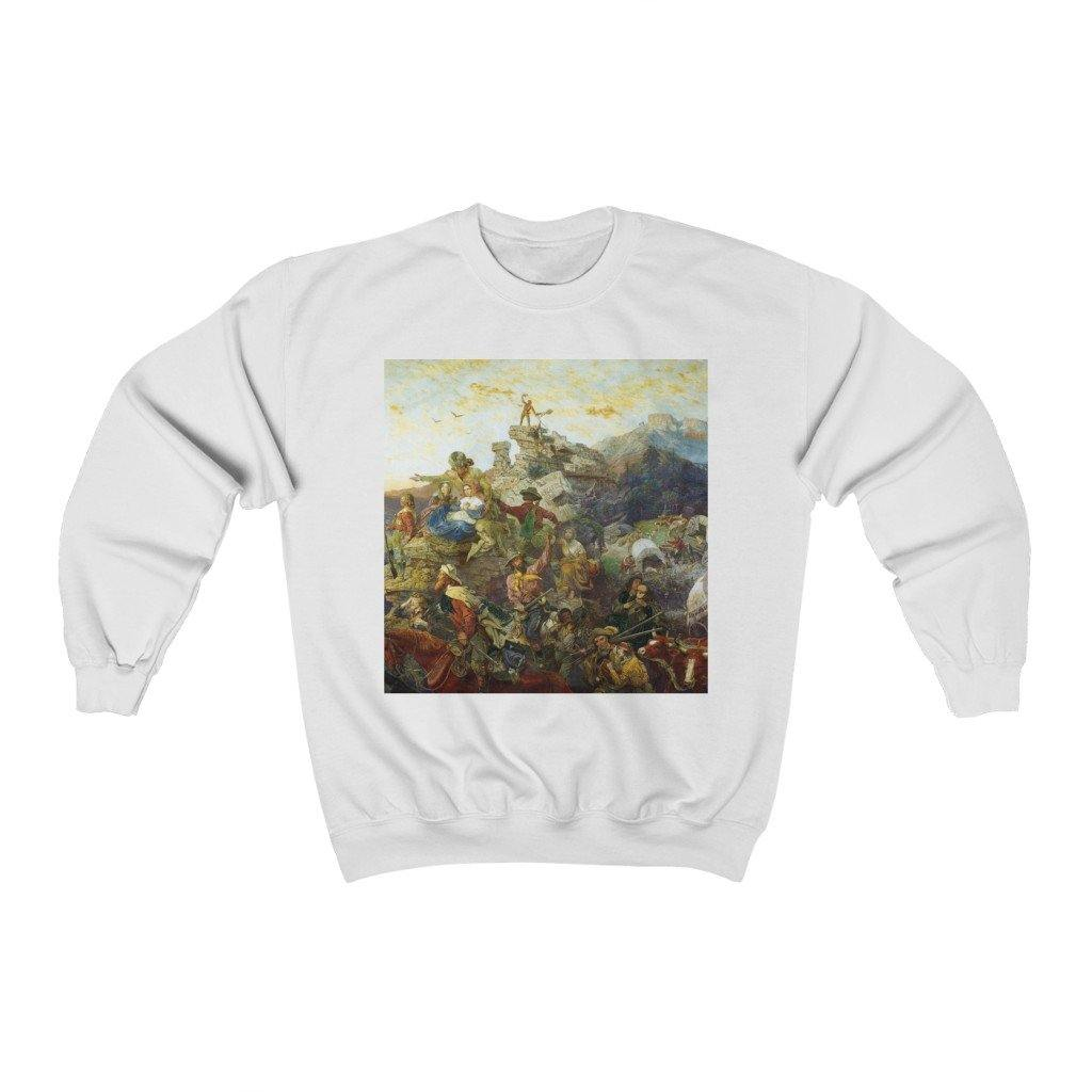 Sweatshirt - Westward the Course of Empire Takes Its Way, Emanuel Leutze - Art an a T