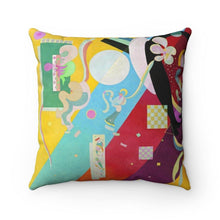 Load image into Gallery viewer, Spun Polyester Square Pillow - Composition IX, Wassily Kandinsky - Art an a T