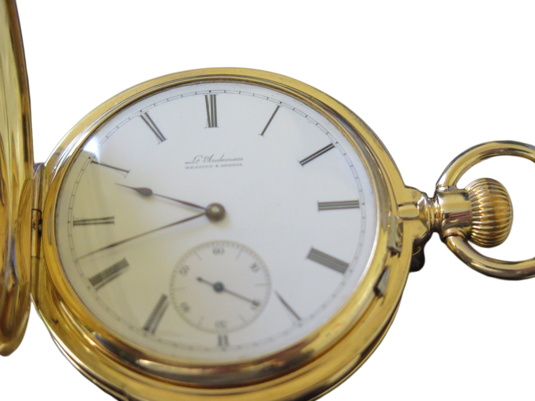 L. Audemas Minute repeater pocket watch