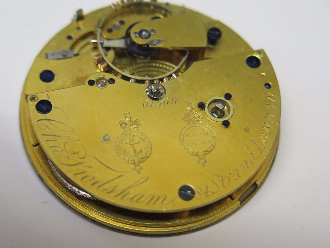 Frodsham Chronometer Pocket Watch Movement