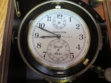 Load image into Gallery viewer, Hamilton Chronometer Mod. 21