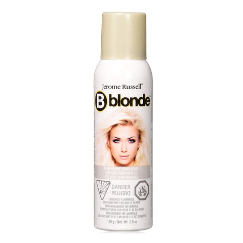 Tinte Temporal En Spray P/ Cabello Highlights Platinum Blonde, Jerome Russell 3.5 oz.