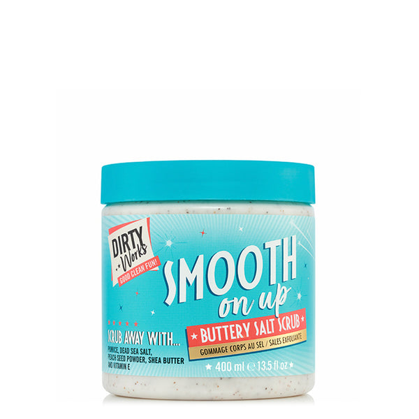 Exfoliante Corporal De Sal Smooth On Up, Dirty Works 400 ml