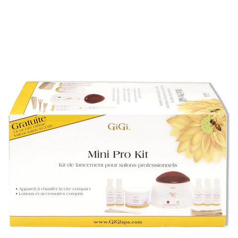 Mini Pro Waxing Kit 120V, Gigi