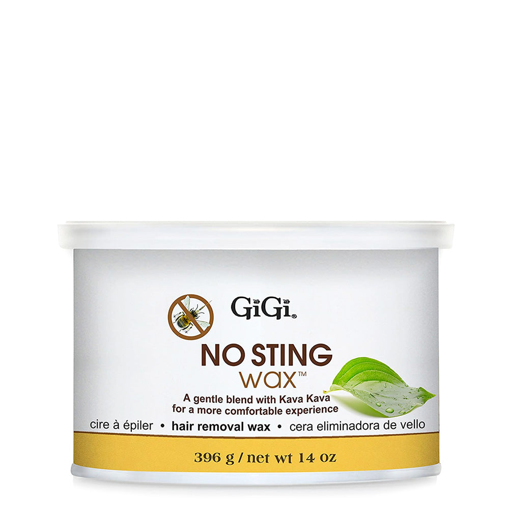 Cera Eliminadora De Vello - No Sting Wax, Gigi 14 oz.