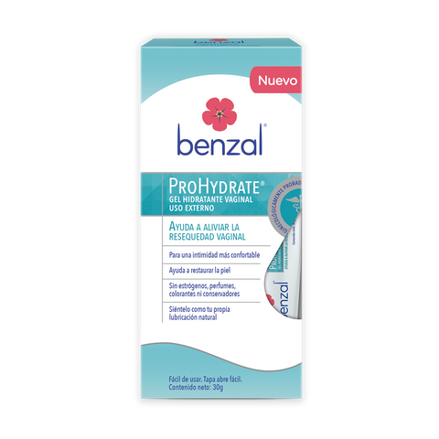 Gel Vaginal ProHydrate Benzal 30 g