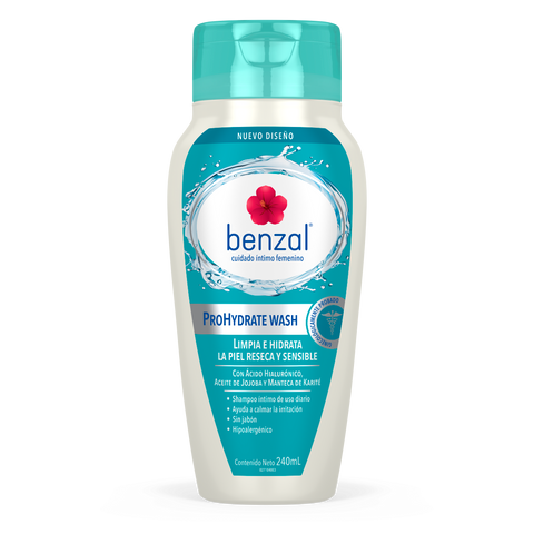 Shampoo Íntimo ProHydrate Benzal 240 ml