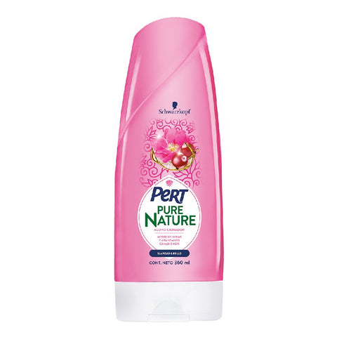 Acondicionador Suavidad y Brillo, Pert Pure Nature 360 ml