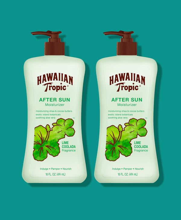 Hawaiian Tropic® Lime Coolada After Sun Lotion - 2 Pack