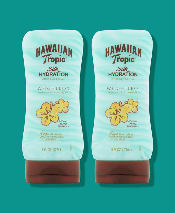 Hawaiian Tropic® Silk Hydration® Weightless After Sun Lotion - 2 Pack