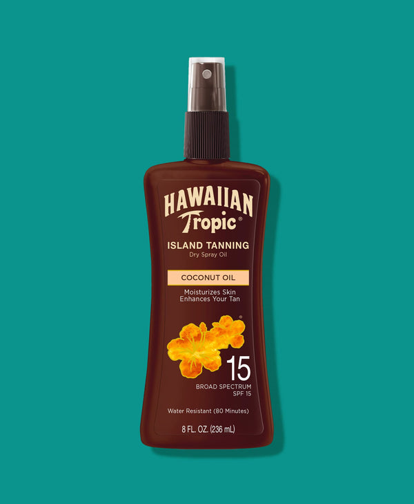 Hawaiian Tropic® Tanning Oil Pump Spray SPF 15