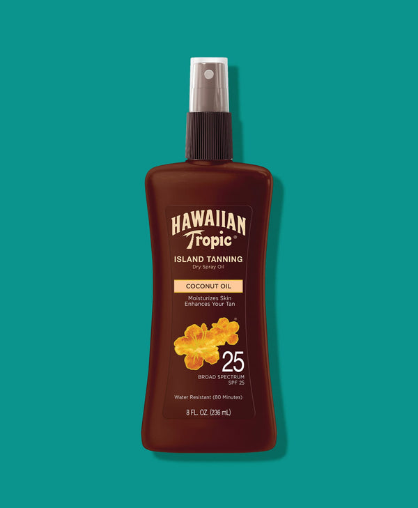 Hawaiian Tropic® Tanning Oil Pump Spray SPF 25