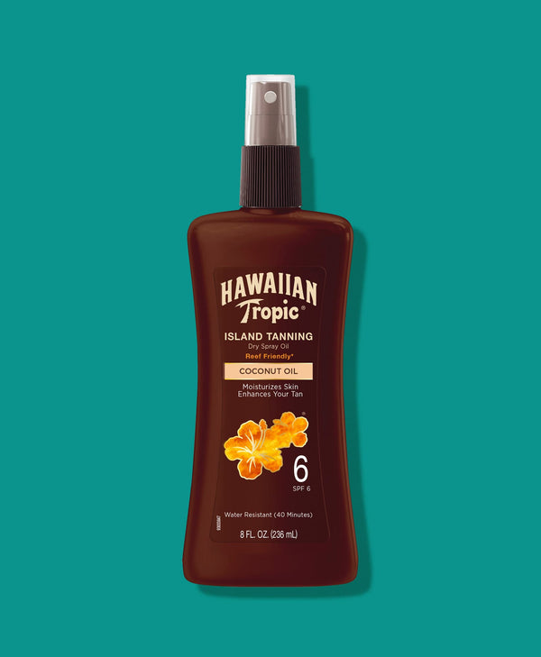 Tanning Oil Pump Spray SPF 6