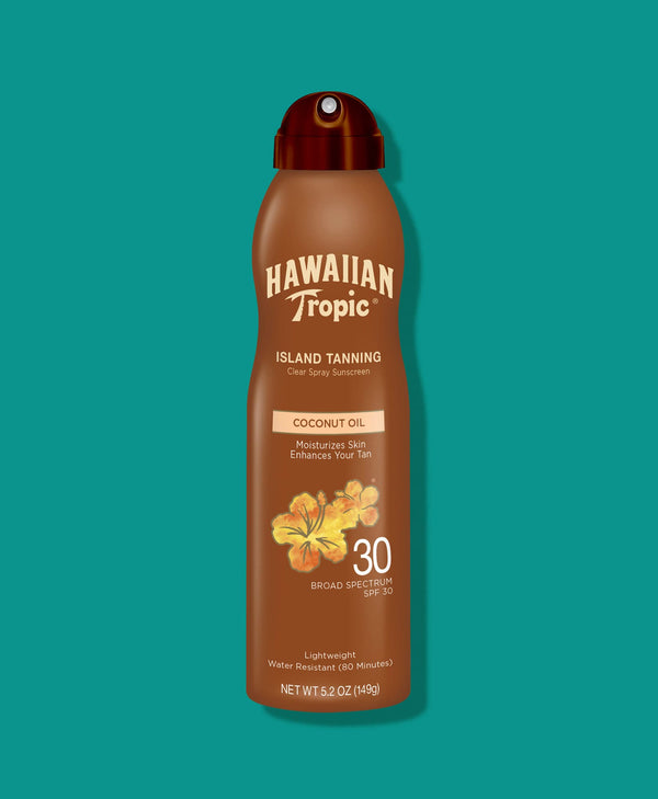Hawaiian Tropic® Tanning Dry Oil Continuous Spray SPF 30