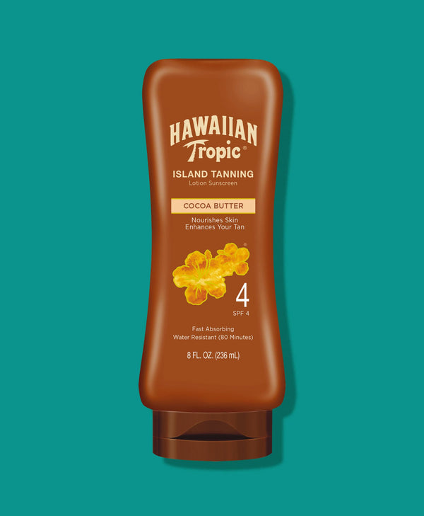 Hawaiian Tropic® Dark Tanning Lotion SPF 4
