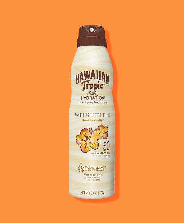 Hawaiian Tropic® Silk Hydration® Weightless Continuous Spray SPF 50