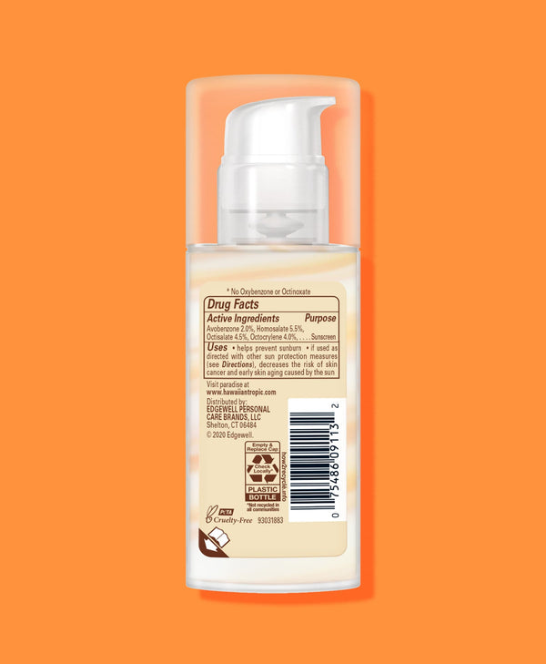 Hawaiian Tropic® Silk Hydration® Weightless Lotion for Face SPF 30