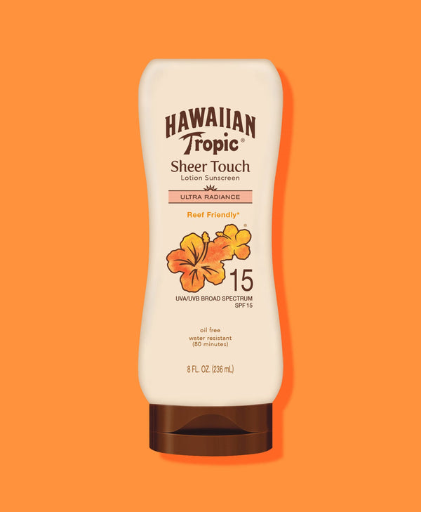 Hawaiian Tropic® Sheer Touch Ultra Radiance Lotion SPF 15