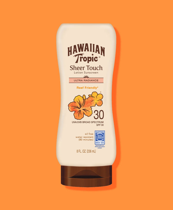 Hawaiian Tropic® Sheer Touch Ultra Radiance Lotion SPF 30