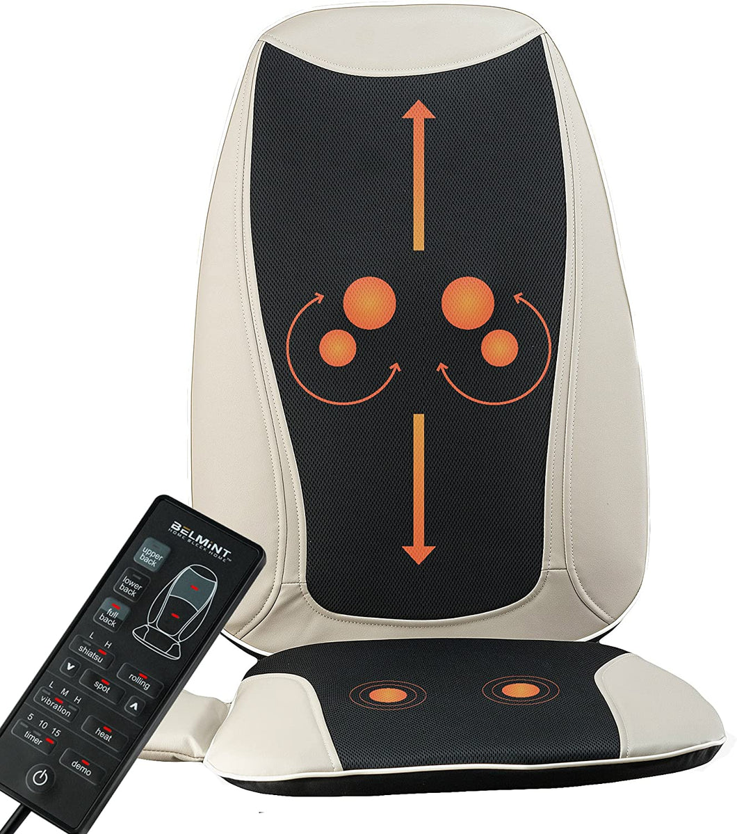 Shiatsu Massage Seat Cushion with Heat