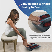 Load image into Gallery viewer, Heated Deep-Kneading Shiatsu Foot Massager