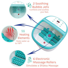 Load image into Gallery viewer, Deluxe Portable Foot Massager and Spa